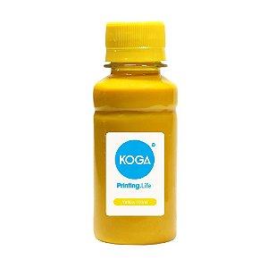 Tinta Bulk Ink Sublimática para Impressora Epson T673 Yellow 100ml Koga
