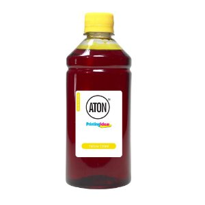 Compatível Tinta Impressora Canon G4100 Yellow 500ml Corante Aton