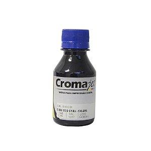 Tinta Sublimática para Epson L1800 EcoTank Cyan 100g Cromajet