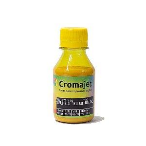 Tinta Sublimática para Epson T673 EcoTank Yellow 100g Cromajet