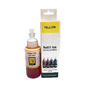 Tinta para Impressora Epson L395 Yellow 70ml Premium