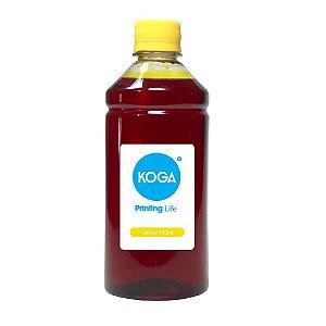 Tinta para Epson L6161 Koga Yellow Corante 500ml