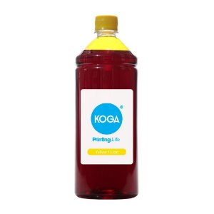 Tinta para Epson L6171 Koga Yellow Corante 1 Litro