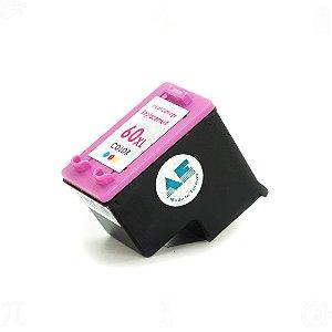 Cartucho para HP 60XL | CC641WB Colorido Compatível 12,5ml