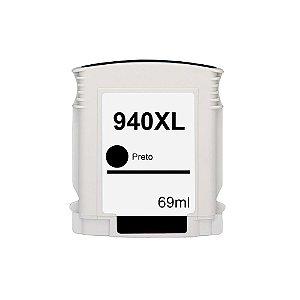 Cartucho para HP 940XL | C4906AL Alto Rendimento  Preto Compatível 69ml