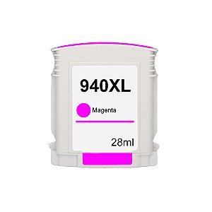 Cartucho para HP 940XL Alto Rendimento Magenta Compatível 28ml