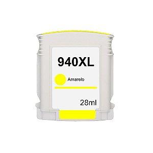 Cartucho para HP 940XL | C4909AL Amarelo Compatível 28ml