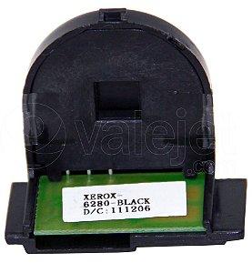 Compatível: Chip para Xerox Phaser 6280 Black 2.2k