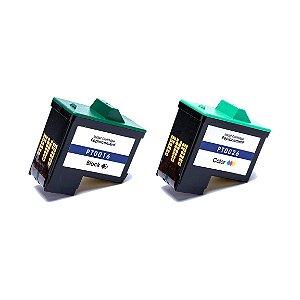 Kit Cartucho para Lexmark 16 Preto + 26 Colorido Compatível