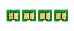 Kit 4 Chip para HP CP1215 | CP1515 | CP1518 | CM1312 CMYK