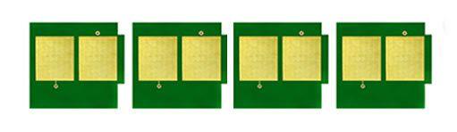 Kit 4 Chip para HP 2600 | 2600N | 2605DN | 2605DTN | CM1015 CMYK
