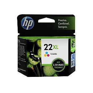Compatível: Cartucho de Tinta HP 22XL Colorido C9352CB   D2460   D1430 Alto Rendimento 11 ml.