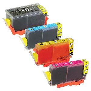 Kit 4 Cartuchos para HP 920XL | 6500 CMYK Alto Rendimento Compatível