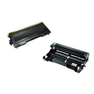 Kit Fotocondutor + Toner Compativel para Brother DCP7020 | TN350