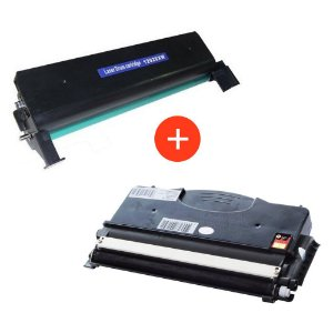 Kit Fotocondutor + Toner Compativel para Lexmark E120 | E120N | Compativel