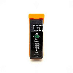 Compatível: Cartucho para Lexmark 100xl | 105xl Black Universal 21,5ml