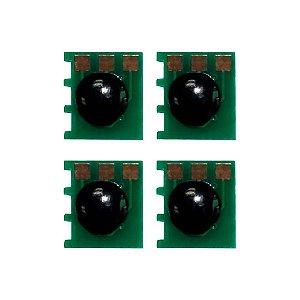 Compatível: Kit 4 Chips HP CE270A | 271A | 272A | 273A | 650A | CMYK