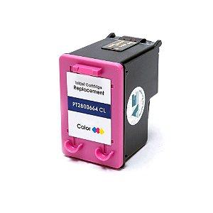 Cartucho para HP 3636 | 2136 | 1115 | 664 XL Colorido Compatível 18ml