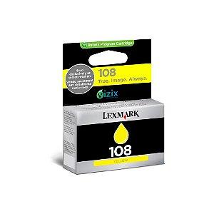 Cartucho de Tinta Lexmark S308   S409   S408   108 Amarelo Original Vencido 4,4ml