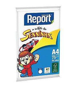 Papel Sulfite Seninha Report A4 100 folhas