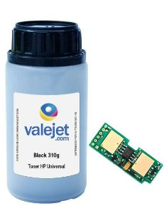 Refil de Toner e Chip para HP Q7553X | 53X | P2015 310g