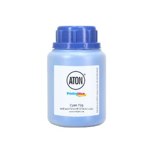 Refil de Toner para HP CP2025 | 2320 ATON Cyan 75g