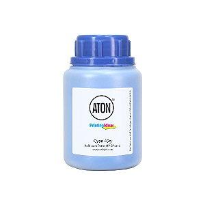 Refil de Toner para HP CP1215 High Definition ATON Cyan 45g