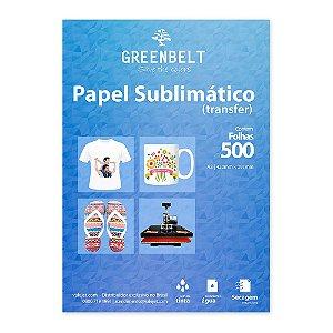 Papel para Sublimação R90 A3 110g - Pacote com 500 folhas Greenbelt