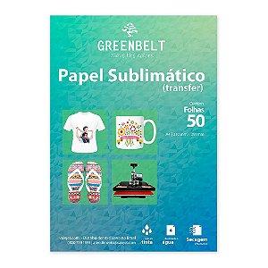 Papel para Sublimação R90 A4 110g - Pacote com 50 folhas Greenbelt