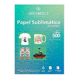 Papel para Sublimação R90 A4 110g - Pacote com 500 folhas Greenbelt