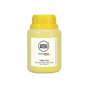 Refil de Toner Para HP 130A | CF352 | M177FW | M176N ATON Yellow 35g