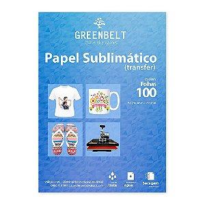 Papel para Sublimação R90 A3 110g - Pacote com 100 folhas Greenbelt