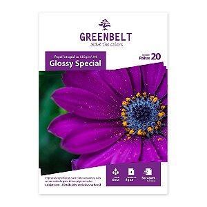 Papel Glossy A4 135g Greenbelt 20 folhas