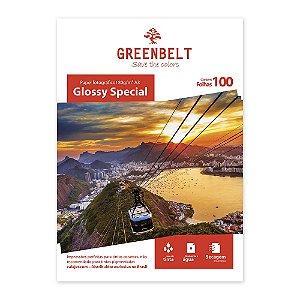 Papel Fotográfico A3 Glossy 180gr Greenbelt 100 folhas