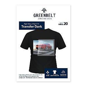 Papel Transfer para Tecido Escuro - 20 folhas
