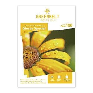 Papel Glossy A4 230g Greenbelt 100 folhas