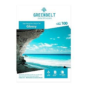 Papel Fotográfico A6 10x15 Glossy 260g 100 folhas