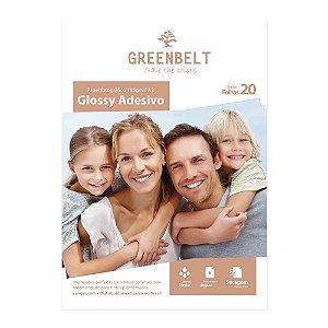 Papel Fotográfico Glossy Adesivo A3 115g Greenbelt 20 folhas