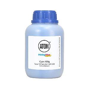 Refil de Toner Lexmark C500 | C500N | X500 | X500N Cyan 100g Aton