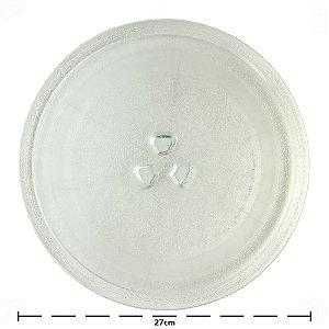 Prato de Microondas 27cm Trevo