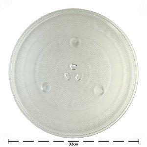 Prato de Micro-ondas Consul | MW-1550 Giratório com Encaixe Trevo 32cm