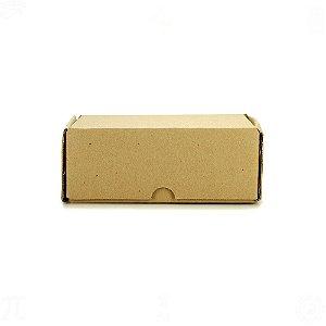 Caixa de Papelão para Embalagens 17,4cm x 13cm x 7cm - 50 Unidades