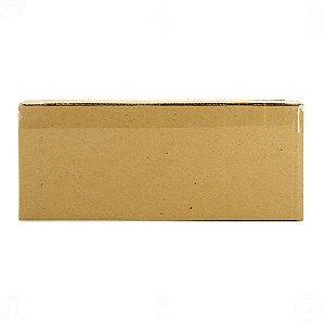 Caixa de Papelão Ondulado Pardo 29,5cm x 9,5cm x 11cm - 10 Unidades