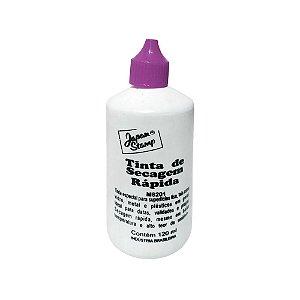 Tinta de Carimbo para Plástico Secagem Rápida Japan Stamp Roxo 120ml