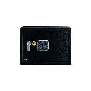 Cofre Residencial de Segurança Digital com Chave Yale Value Compact La Fonte 200x310x200mm