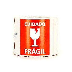 Etiqueta Adesiva Fragil 100x150x1