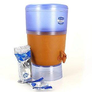 Filtro de Água Advance Plus Stéfani Vela Tripla Ação e Boia 6 Litros