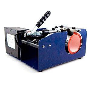 Máquina de Estampar Prensa de Caneca e Objetos Cilíndricos 110v