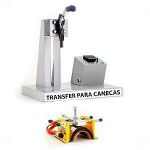Prensa Digital Térmica para Canecas Transfer Laser em Acrílico 220v