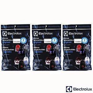 Kit Sacos para Aspirador de Pó Electrolux One   Max Trio   Trio 9 Unidades